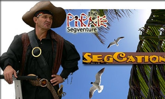 Clearwater Gliders Segway Adventures - Clearwater: $30 for a Two-Hour Pirate-Themed Segway Tour by Clearwater Gliders Segway Adventures
