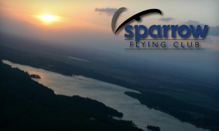 Sparrow Flying Club, LLC - Multiple Locations: $85 for a Sightseeing Flight from Sparrow Flying Club, LLC (Up to $165 Value)