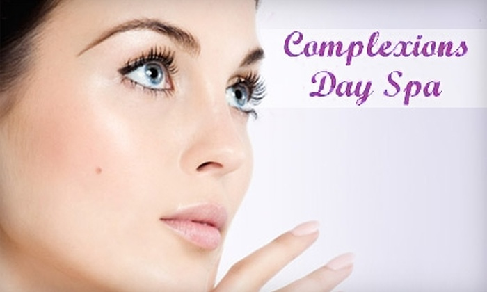 Complexions Day Spa - St. Petersburg: $48 for a Pedicure, European Facial, Resurfacing Treatment, Firming Eye Treatment, and a Grape Seed-Oil Hand Treatment at Complexions Day Spa in St. Petersburg ($240 Value)