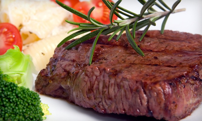 Palace Family Steakhouse - Mission: Steak Dinner for Two or Four at Palace Family Steakhouse (Up to 55% Off)