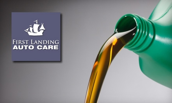 First Landing Auto Care - Multiple Locations: $18 for a Conventional Oil Change or $29 for a Synthetic Oil Change at First Landing Auto Care