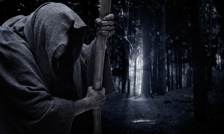 C$25 for a Haunted Hayride and Hot Chocolate for Two at Haunt Manor (C$43 Value). Four Dates Available.
