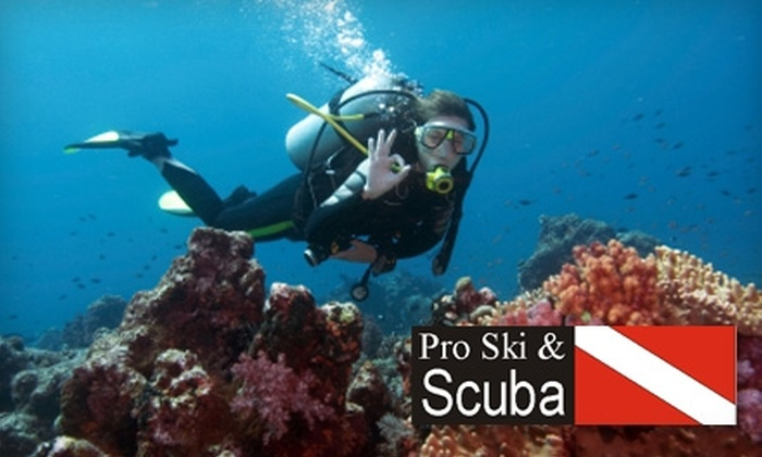 Pro Ski and Scuba - Grandview Heights: $20 for an Introductory Discover Scuba-Diving Class at Pro Ski and Scuba ($35 Value)