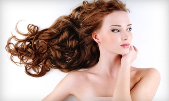 Little Flower Day Spa and Aesthetic Specialties - Mountain Brook: $43 for a Cut, Style, and Partial Highlights at Little Flower Day Spa and Aesthetic Specialties in Mountain Brook (Up to $125 Value)