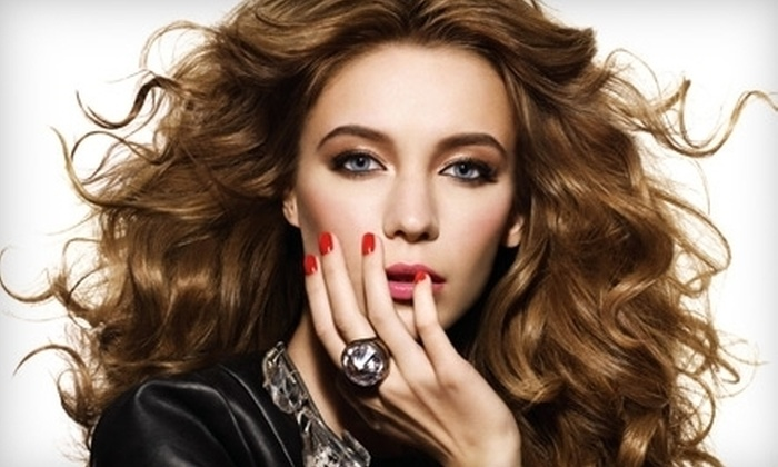 Trade Secrets - Multiple Locations: $15 for Shellac Manicure at Trade Secrets ($35 Value)