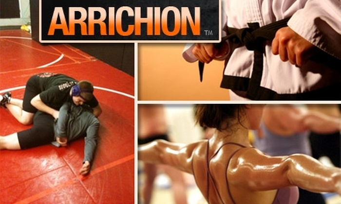 Arrichion - Umstead: $30 for 40 Days of Unlimited Hot-Yoga, and Mixed Martial Arts Fitness Classes at Arrichion Gym ($99 Value)