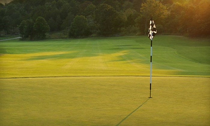 Hidden Oaks Golf Course - Granbury: Golf Outing for Two with Cart Rental (Up to $85 Value)