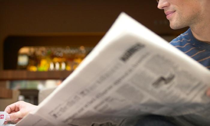 "Fort Worth Star-Telegram: 26-Week or One-Year Wednesday & Sunday Newspaper Subscription to the ""Fort Worth Star-Telegram"""
