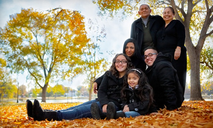 "IC Productions - Speer: $149 for Photo Session, 10 Digital Images, and 13""x19"" Print or 50 Holiday Cards from IC Productions (Up to $525 Value)"