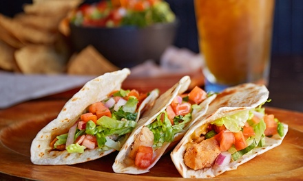 Mexican Food at Tacos Mexico Sabroso (Up to 42% Off). Two Options Available.