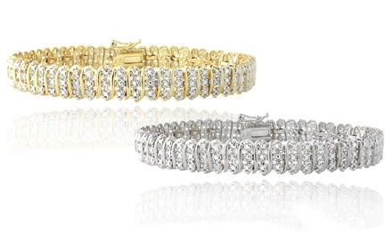 1.00 CTTW Diamond Tennis Bracelet
