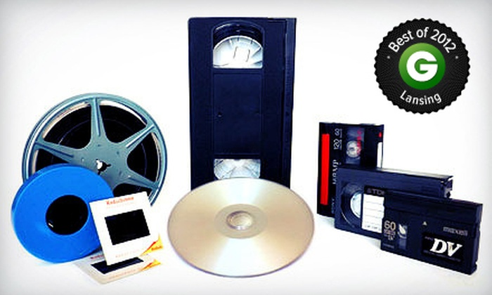 Such Media - Okemos: 5 or 10 Videotape-to-DVD Transfers, or $35 for $75 Worth of Services at Such Media in Okemos