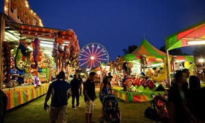Midway of Fun: $15 for Carnival Rides at Santa Cruz County Fair ($30 Value)
