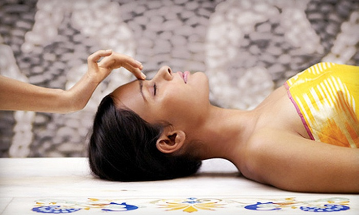 Solé Aveda Salon and Spa - Emeryville: Pure Focus Facial with Eye Zone Treatment or Three Facials at Solé Aveda Salon and Spa in Emeryville (Up to 69% Off)