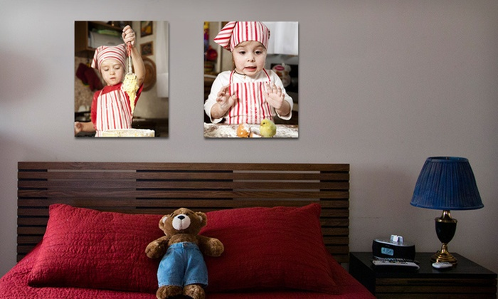 "Custom Gallery Wrapped Photo Canvases: One or Two Gallery Direct Custom Gallery Wrapped 16""x20"" Photo Canvases (Up to 77% Off). Free Shipping."