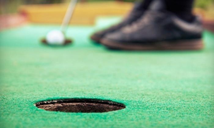 Evolution Sportsplex - Auburn Hills: Mini Golf, Driving-Range Practice, and Snacks at Evolution Sportsplex (Up to 63% Off). Two Options Available.