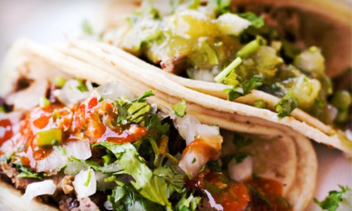 Lolita's Tacos Inc. - Camp Taylor: $9 for Two Mexican Combination Plates at Lolita's Tacos Inc. ($19.78 Value)