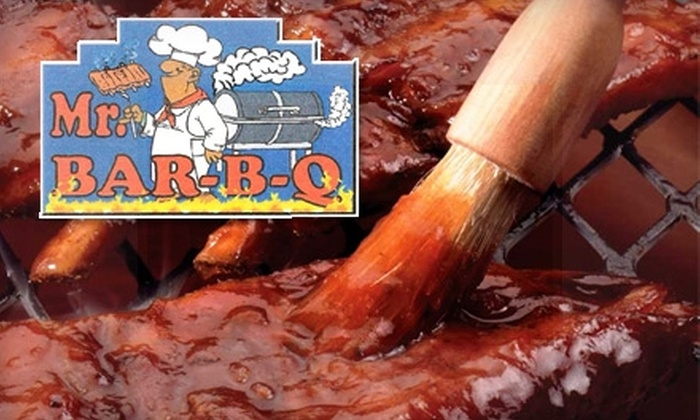 Mr. Bar-B-Q - Odessa: $10 for $20 Worth of Smoky Sustenance at Mr. Bar-B-Q