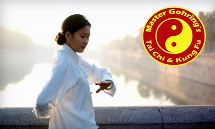 Master Gohring's Tai Chi & Kung Fu  - Austin: $10 for One Week of Tai Chi Classes and a Private Lesson at Master Gohring's Tai Chi & Kung Fu ($29.97 Value)