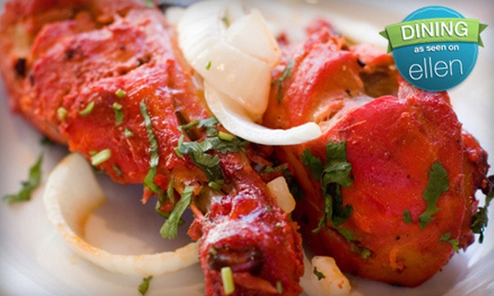 Taj Palace Visalia - Visalia: $10 for $20 Worth of Indian Cuisine for Dinner or a Lunch Buffet at Taj Palace in Visalia