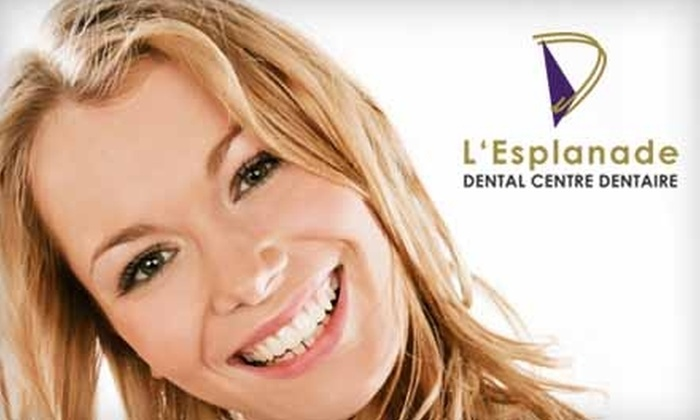 L'Esplanade Dental Centre Dentaire - Centretown - Downtown: $59 Take-Home Teeth Whitening Kit at L'Esplanade Dental Centre ($450 Value)