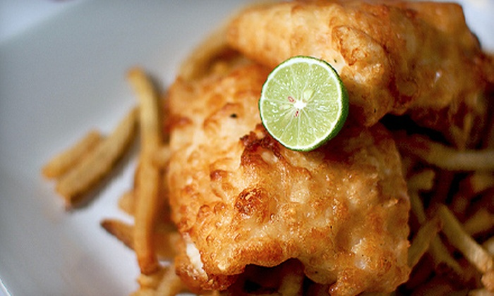 The Battered Fish - Multiple Locations: $7 for $15 Worth of Casual-Dining Seafood and Drinks at The Battered Fish