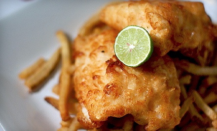 $15 Groupon to The Battered Fish - The Battered Fish in Bedford