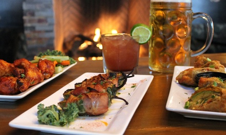 $12 for $20 Worth of New American Food at Cabin Whiskey & Grill