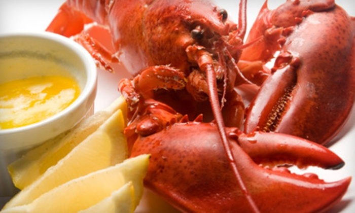 The Lobster House - Pickering: Seafood and Drinks On a Weekday or Weekend at The Lobster House in Pickering