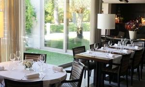 CA' Restaurant & Resort: CA' Restaurant & Resort - Menu gourmet alla carta con 4 portate e vino