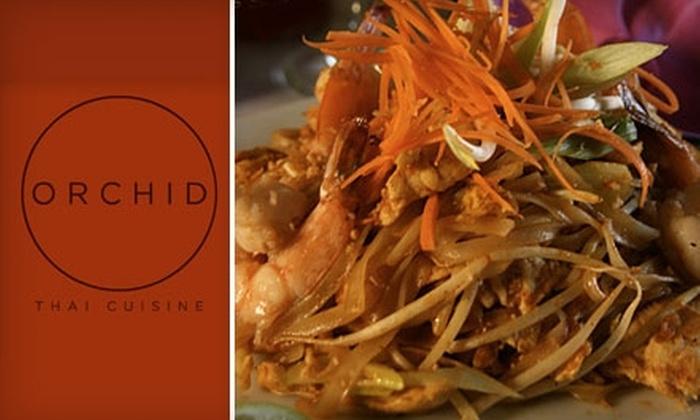Orchid Thai Cuisine - Winter Park: $15 for $30 Worth of Thai Fare and Drinks at Orchid Thai Cuisine in Winter Park