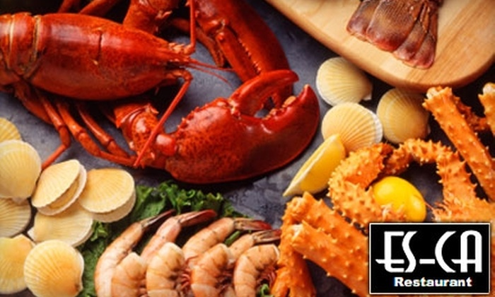Es-Ca - Todt Hill: $25 for $50 Worth of Italian Fare and Drinks at Es-Ca in Staten Island