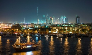 Forever Tourism: Dubai Marina Dinner Dhow Cruise for One or Two People with Forever Tourism (37% Off)
