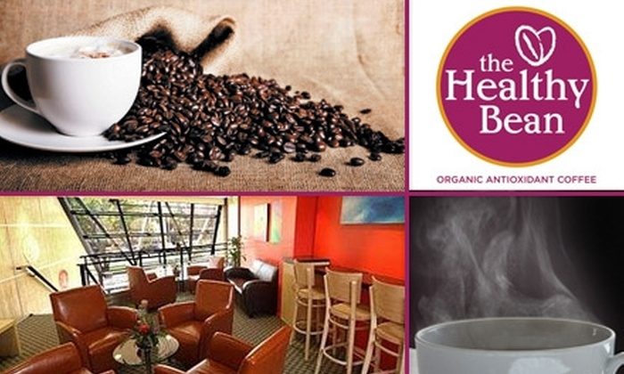 The Healthy Bean - West Hollywood: $7 for Five Coffees or Organic Teas (Hot or Iced) from The Healthy Bean (Up to a $14.75 Value)