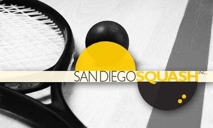 San Diego Squash - Sorrento Valley: $12 for Two Hours of Squash at San Diego Squash