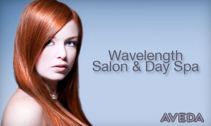 Wavelength Salon & Day Spa - Yellow Springs: $33 Haircut, Style, Bottle of Shampoo and Conditioner, and a Lip or Brow Wax at Wavelength Salon & Day Spa ($66 Value)