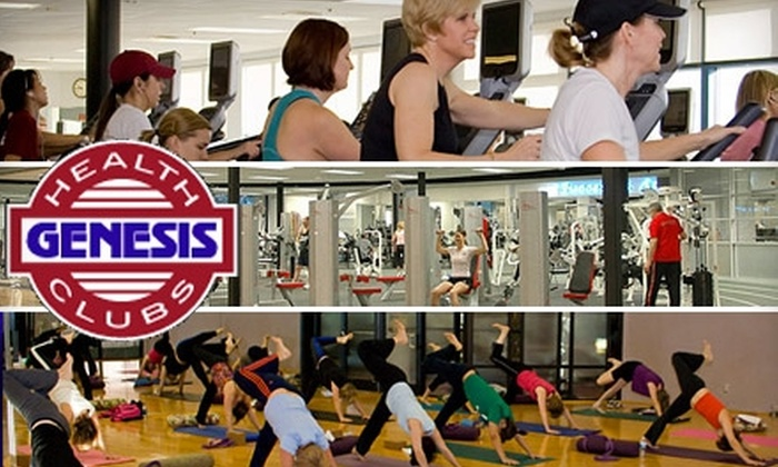 Genesis Health Club - Multiple Locations: $20 for 20 Visits to Genesis Health Club ($300 Value)