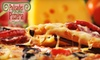 Palisades Pizzeria & Clam Bar - Foxhall - Palisades: $8 for a One-Topping Pizza or $5 for $10 Worth of Pizza, Sandwiches, and More at Palisades Pizzeria & Clam Bar ($19.25 Value)