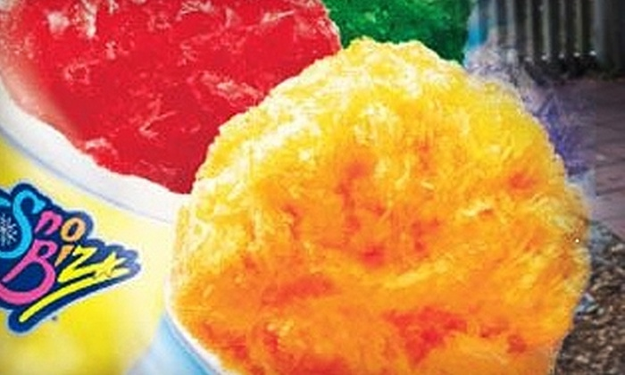 Sno Biz - Boise: $5 for $10 Worth of Frozen Treats at Sno Biz