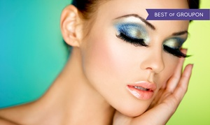 Vanity Lash Lounge: Full set of Volume 10D Eyelash Extensions or Set of Synthetic Mink Eyelash Extensions (56% Off)