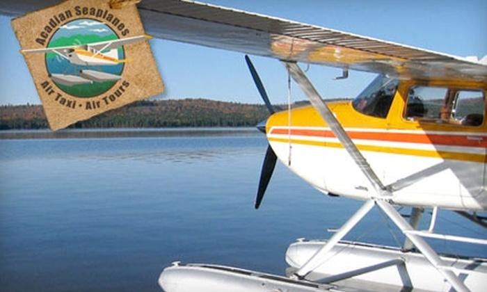 Acadian Seaplanes - Rangeley: $98 for 30-minute Seaplane Tour for Two from Acadian Seaplanes in Rangeley