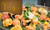 Simply Thalia - Loop: $12 for $24 Worth of Asian Fusion Cuisine and Drinks at Simply Thalia