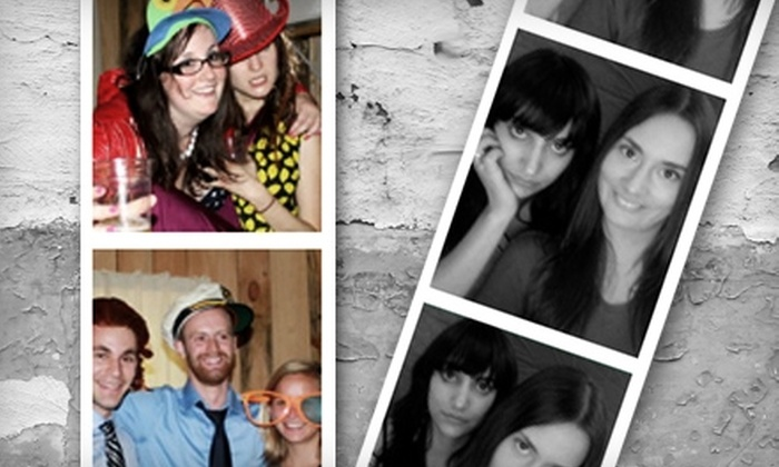 PhotoBooth 2 Go - Downtown Toronto: $699 for a Four-Hour Photo-Booth Rental Package from PhotoBooth 2 Go ($1,399 Value)