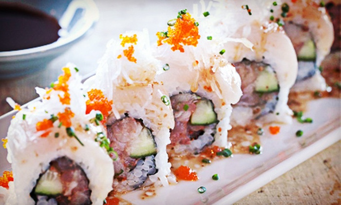 Sushi World - Cypress: $12 for $24 Worth of Asian Fusion Cuisine at Sushi World