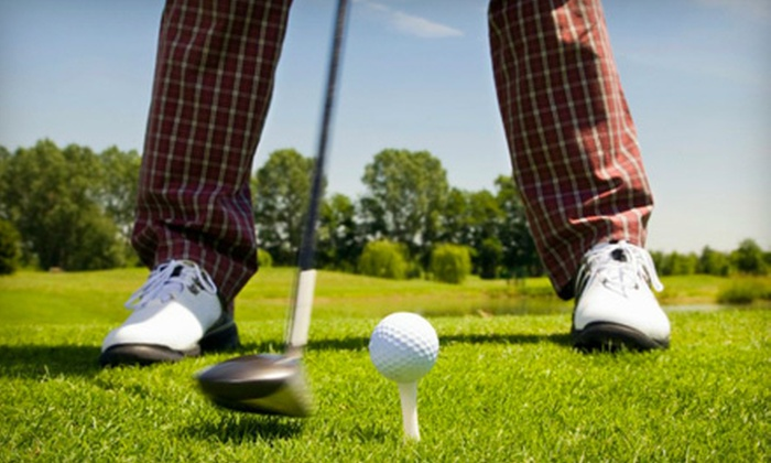 Alpine Golf Club - Creston: Golf Outing with Cart for Two or Four at Alpine Golf Club in Comstock Park (Up to 53% Off)