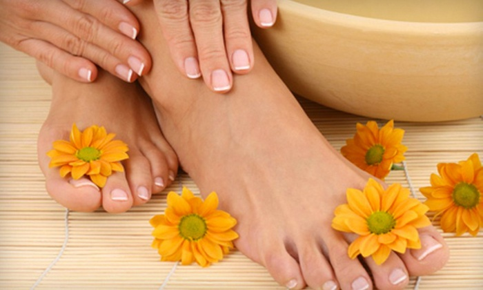 The Spa - Northview: $37 for Shellac or Spa Manicure with a Spa Pedicure at The Spa in Nixa (Up to $75 Value)