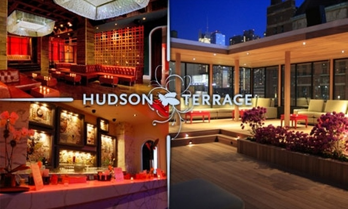 Hudson Terrace - Clinton: $25 Admission to a Cocktail Series Tasting at Hudson Terrace. Buy Here for the Scotch, Whiskey, Bourbon, and Cigars Tasting at 7 p.m. on Wednesday, June 9. See Below for Additional Dates and Tastings.