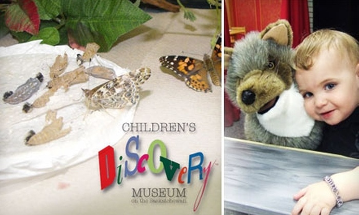 Children's Discovery Museum on the Saskatchewan - Nutana S.C.: $29 For a Family Membership (or $10 For a Single Membership) to The Children's Discovery Museum