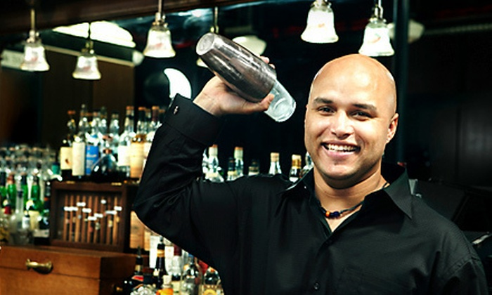 Professional Bartenders School - Multiple Locations: Six-Hour Class or Two-Week Course at Professional Bartenders School (Up to 80% Off)