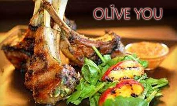 Olive You - Moss Bay: $20 for $40 Worth of Mediterranean Fare and Drinks at Olive You in Kirkland